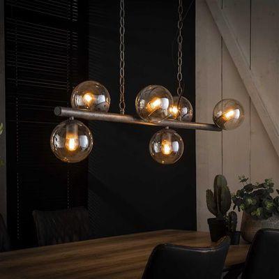 Hanglamp Elzach met glazen bollen