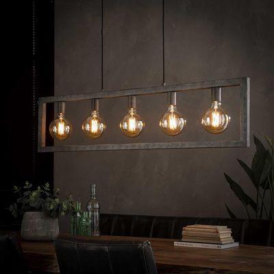 Hanglamp Emden in metalen buis