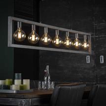Hanglamp Emmendingen in metalen buis