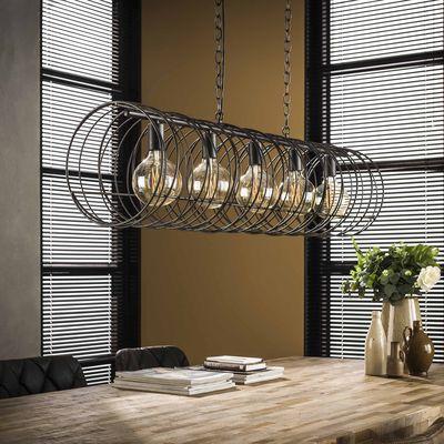 Hanglamp Alsdorf spiraal 5 lampen