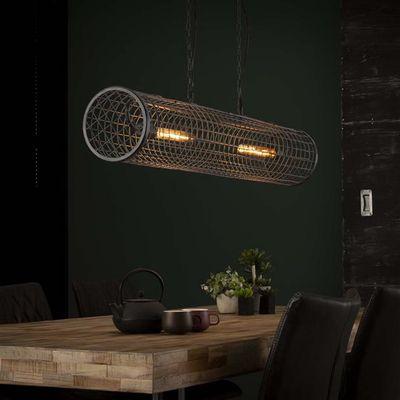Hanglamp Erbach van industriëel gaas