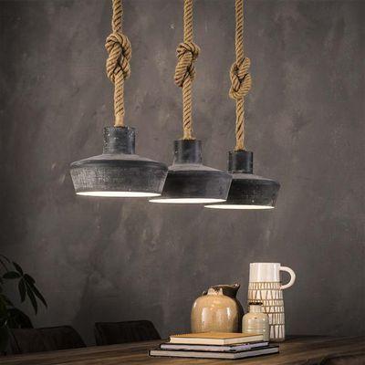 Hanglamp Edring met betonlook