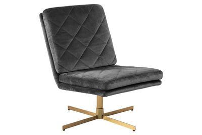 Annisse fauteuil grijze stof