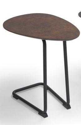 Brees New World banktafel Twinny HPL brons