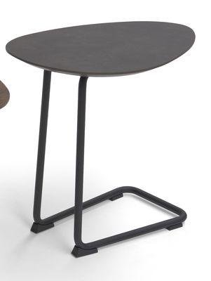 Brees New World banktafel Twinny HPL agaat grijs