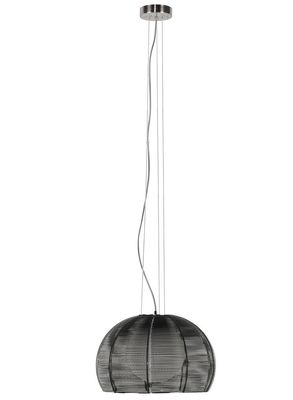 Highlight hanglamp Whires Globe aluminium met opaalglas