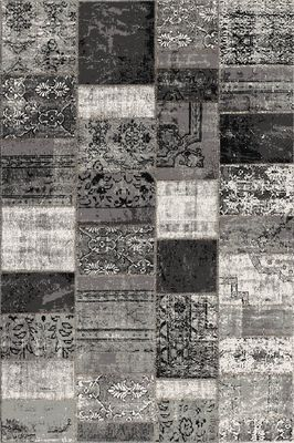 Karpet Rapor patch anthracite 160x230 cm
