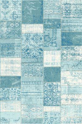 Karpet Rapor patch turquoise 160x230 cm