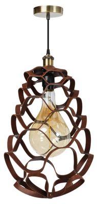 ETH Expo Trading hanglamp Buffalo in bruin cognac leer