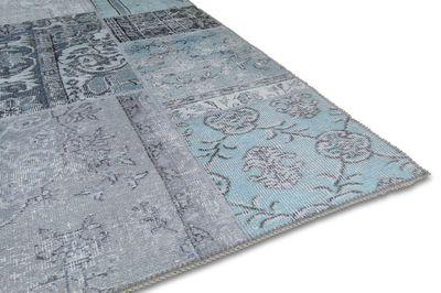Karpet Bukan licht blaauw,160x230 cm