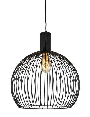 ETH Expo Trading hanglamp 40 cm zwart metaal