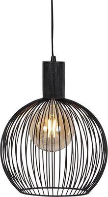 ETH Expo Trading hanglamp 30 cm zwart metaal