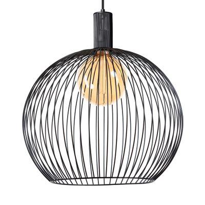 ETH Expo Trading hanglamp 60 cm zwart metaal