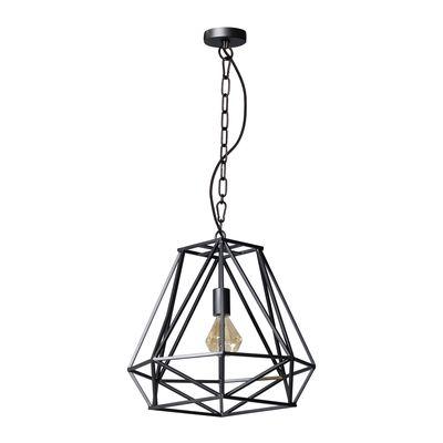 ETH Expo Trading hanglamp Hope in zwart staal