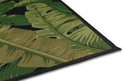 Karpet Nature groene bladeren