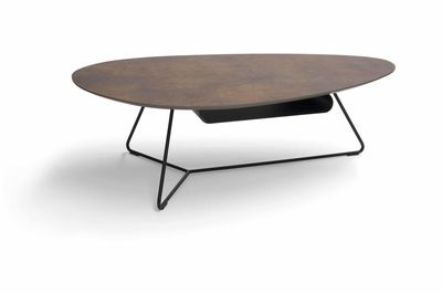 Brees New World salontafel Twinny XL HPL brons
