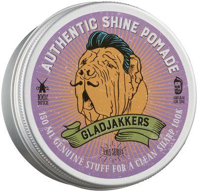 Gladjakkers Authentic Shine Pomade 150 ML
