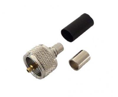 SSB UHF-Male crimp Aircell 7