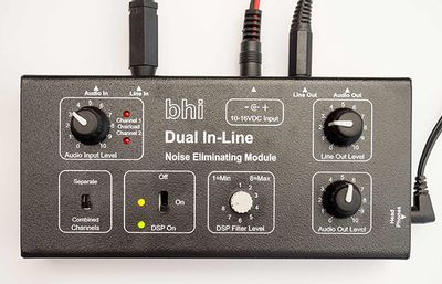 BHI Dual In-Line Mono/Stereo DSP-module