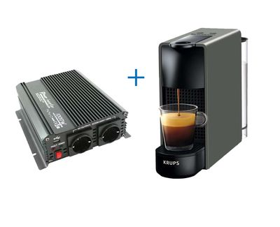 Krups Essenza mini Nespresso Truckset 24V
