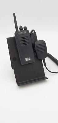 Deskmount voor portable scanner of transceiver