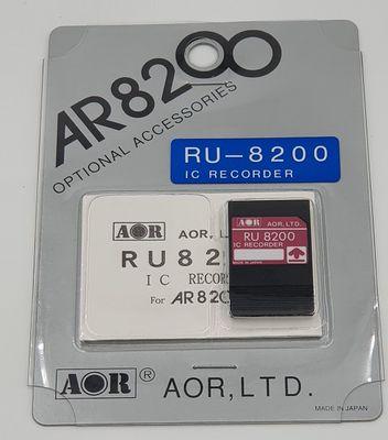AOR RU8200 opname kaart