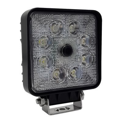 Achteruitrijcamera met werklamp 140° 9-32Volt
