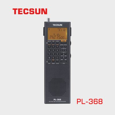 Tecsun PL-368 zwart