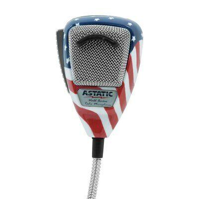 Astatic 636L FLAG/Stars & Stripes 6-Pins
