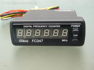 Galaxy Frequency Counter
