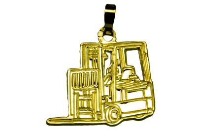 Forklift goud