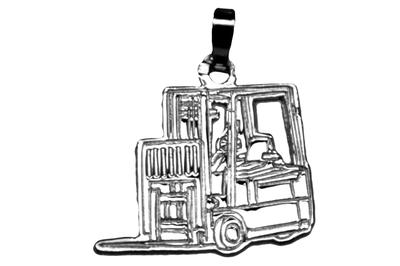 Forklift Zilver