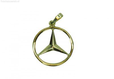 Mercedes logo Goud