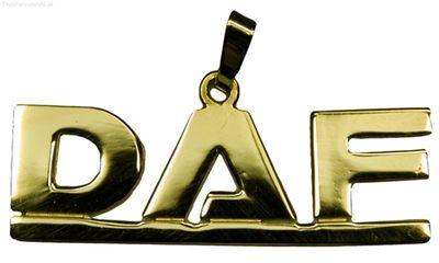 Daf letters Groot Goud