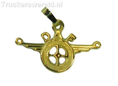 Daf logo Klein Goud