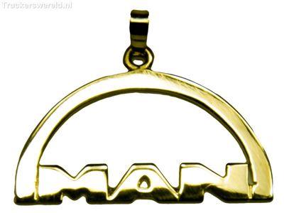 MAN Logo Goud