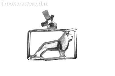 MAN Logo Zilver