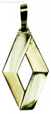 Renault logo Goud