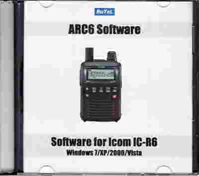 Butel scanner software Icom IC-R6