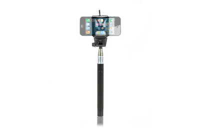 Bluetooth selfie stick zwart