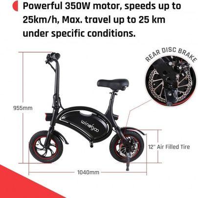 Windgoo B3 Elektrische Opvouwbare Mini Scooter.4