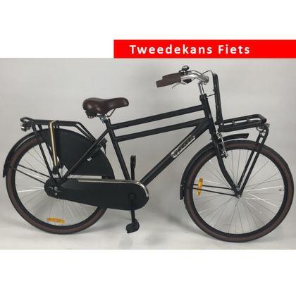 Popal Daily Dutch Basic Jongens 26 inch Mat Zwart Tweede Kans