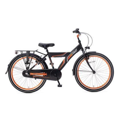 Popal Funjet 3 Versnellingen 24 inch Mat Zwart Oranje