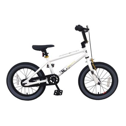 Volare Cool Rider BMX Crossfiets 16 inch Wit