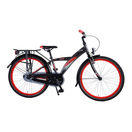 Volare Thombike City 24 inch Satin Grey Red