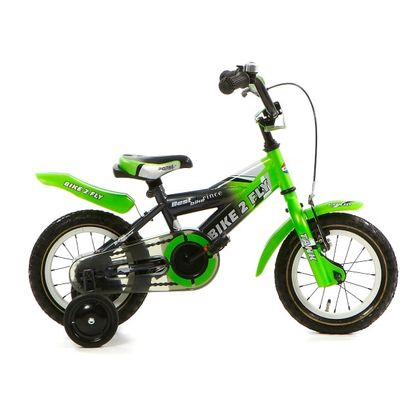 Popal Bike 2 Fly 12 inch Groen