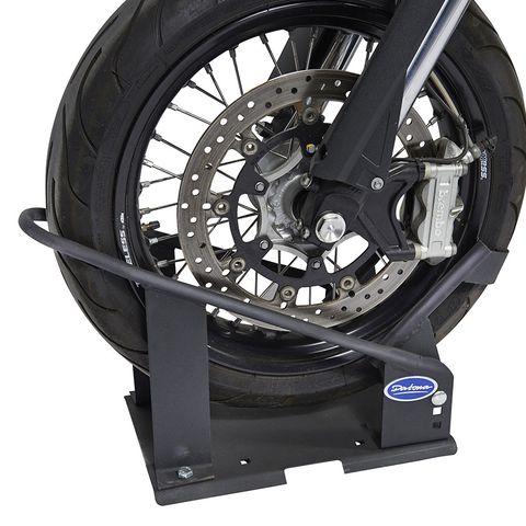 Motor inrijklem motorfiets wielklem motorstandaard