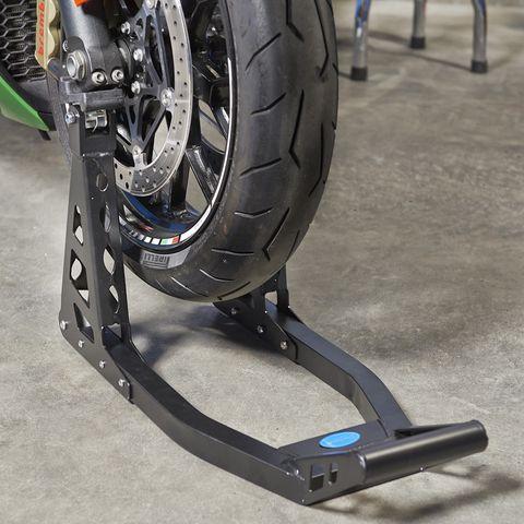 MotoGP paddockstand motorlift voorwiel motor
