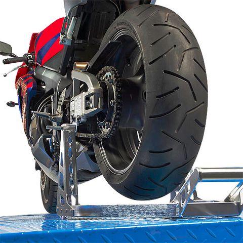Paddockstand achterwiel aluminium motorlift motorstandaard