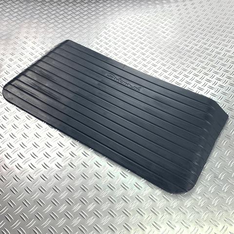 Drempelhulp van rubber 75mm